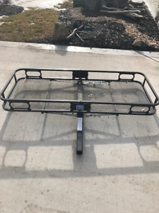 Hitch Mounted Carrier. Mint Condition