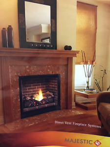 Brand New Natural Gas Fireplace