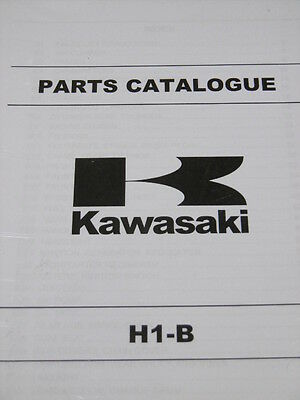 KAWASAKI H1 B parts catalogue 1975 500.