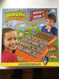 Moshi Monsters Guess Who (as new)