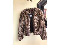Beautiful New Womens S.O.S Fur Jacket. Brand New