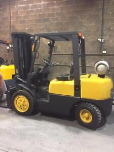 6000lb TCM Pneumatic Tire Forklift - a REALLY GOOD UNIT!