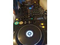 2 x Pioneer CDJ 1000 MK3's & Pioneer DJM 800 Mixer!