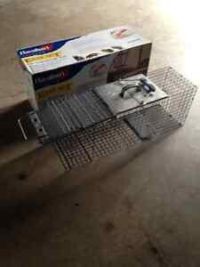 Sold !Trap for raccoons or similar sized animals.