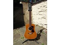 1975 Guild G212 12-string acoustic guitar