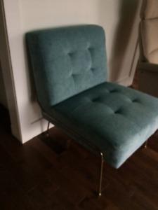 magnifique chaise d'accent