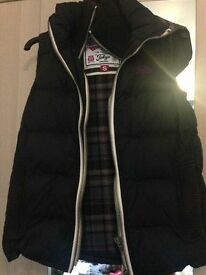 Superdry Ladies Gilet Size Small