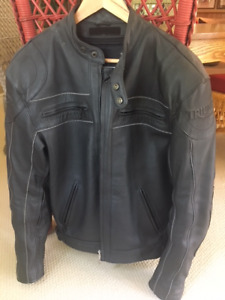 """Triumph Leather """"Westbourne"""" Jacket and riding boots"""