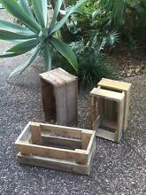Rustic Wooden Crates Oxenford Gold Coast North Preview