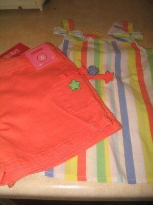 NWT Girls Gymboree Shorts and Top Set - Size 4
