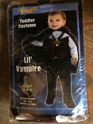 Toddler Costumes Spirit Halloween (Spirit Halloween Lil' Vampire Toddler Costume, Size)