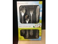 New boxed Ernesto Kids Cutlery Set Stainless Steel 4 piece