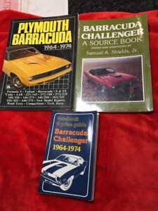 Barracuda and Chalenger 1964-1974 reference books