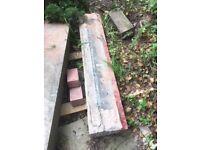 stone window sill or step