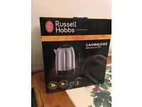 Russell Hobbs 20070 Cambridge Kettle, 1.7 L, 3000 W - Brushed Stainless Steel Silver - £10