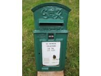 Post Box George VI Wagon Top Circa 1940