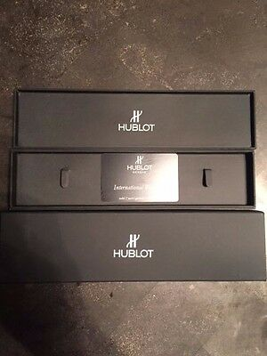 HUBLOT ATELIER WATCH EXCELLENT CONDITION - TWO BANDS - SPECIAL EDITION!