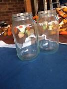 Glass jars 500ml, new Brunswick East Moreland Area Preview