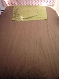 King Size Duvet Cover - Cotton - Chocolate Brown