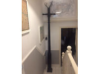 Victorian Steel lamp posts- 3.1 meters. Matching set