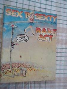 "Comic Book Sex to Sexty ""Bare Act"" signed Pierre Llevie Ourimbah Wyong Area Preview"