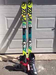 Volkl ski and boots for sale
