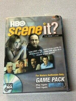 HBO Scene It The DVD Game Pack FOR MATURE AUDIENCES ONLY  (Hbo Kids Games)