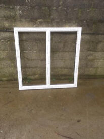 NEW WHITE UPVC WINDOW 1020MM WIDE X 1055 HIGH INCLUDING CILL
