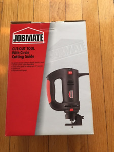 Jobmate Cut-Out Tool With Circle Cutting Guide
