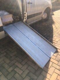 RAMPS, Folding Metal Access ramps, for van car or home.