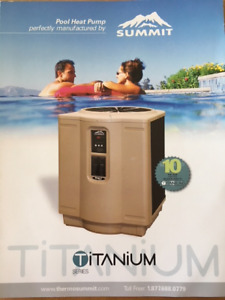 Hayward Sum 3 Heat pump suitable for a 24 foot round pool