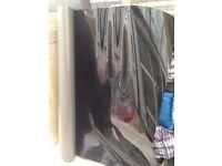 Black High Gloss Vinyl Flooring