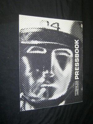 Original 1971 THX 1138 Pressbook 10 pages no cut outs
