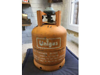 Butane Unigas bottle 5.4 with regulator (empty)