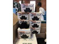 Moustache money boxes 100 pcs take all at