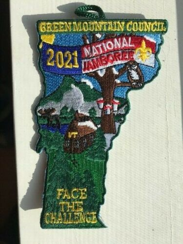 New Vermont 2021 National Jamboree Patch