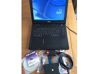 Professional Auto Diagnostic Laptop Car Van Truck + VCI + 2014.2 Software