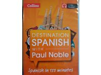 Paul Noble - Destination Spanish - learn Spanish CDs