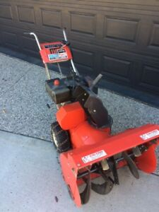 8HP Craftsman 2 Stage Snowblower with Electric Start