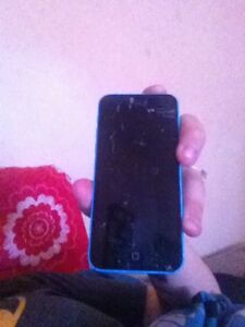 Anyone Interested In A IPhone 5C-Screen Is Broken