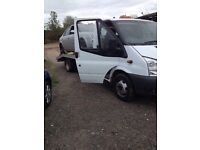 Scrap cars and vans purchased fast reliable service