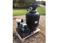Onga swimming pool pump and filter system