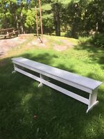 Benches to Rent or Buy for your Wedding or Gathering