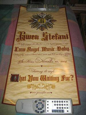 GWEN STEFANI-(love angel music baby)-1 POSTER-12X24-MINT-RARE