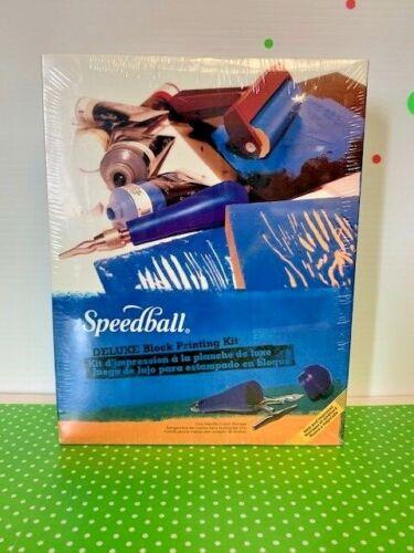 Speedball Deluxe Block Printing Kit New & Factory Sealed