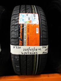 N720 1X 225/45/17 94W JOYROAD RX6 XL NEW TYRES