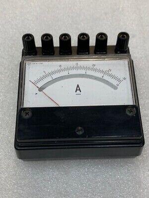 Yokogawa Yew Analog Type Yas1993 Miniature Portable Ampere Meter Used