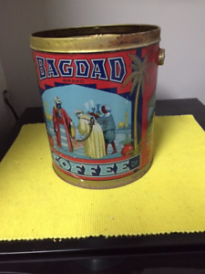 Bagdad Coffee Tin