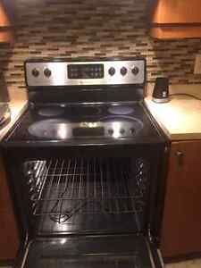 FRIDGEDARE STAINLESS STEEL STOVE EXCELLENT CONDITION