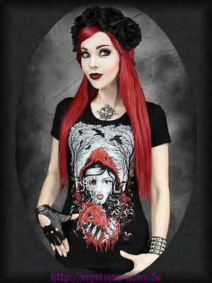 Shirt Top Dead Red Riding Hood Zombie Rotkäppchen Gothic Horror Punk Gothabilly ()